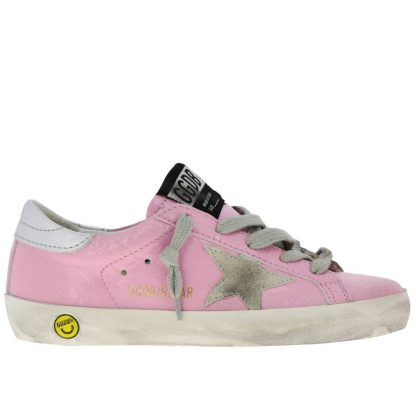 sports shoes e4992 b2385 Golden Goose Sneakers Superstar Rosa